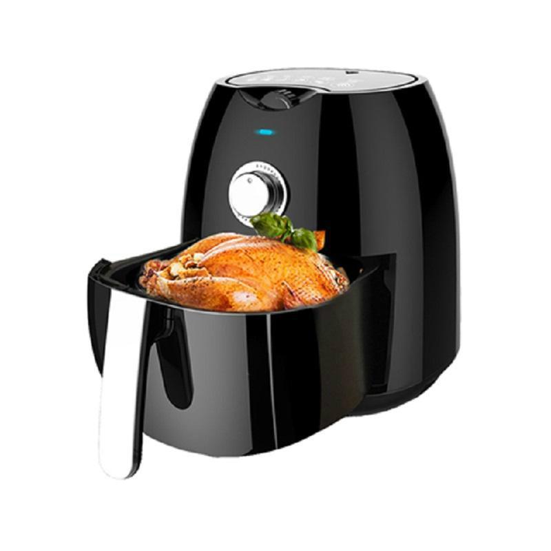Controle 220v elétrica Air Fryer Temperatura Temporizador Oil-less Calorie Redutor multifuncional programável Controle de Tecnologia de boa cozinha