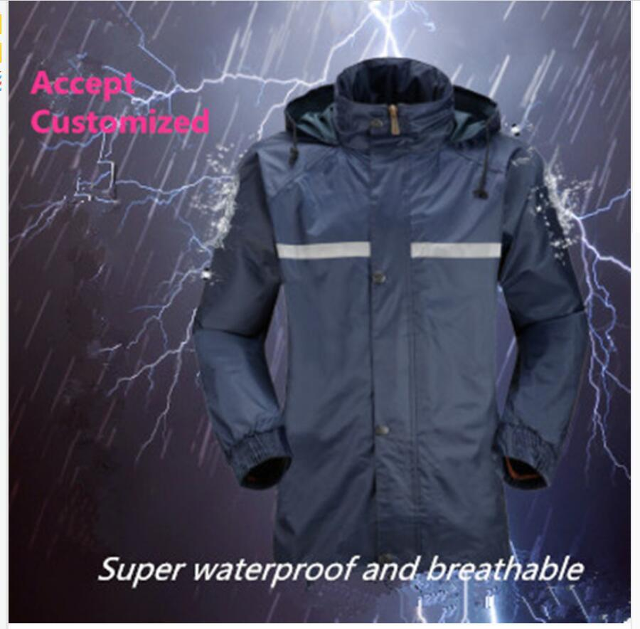 amazing price how to purchase best cheap 2019 Night Safety Reflective Raincoat Suit Women Rain Pants Men Riding  Rainwear Suit Waterproof Rainwear Poncho For Rain Motorcycle Waterproof  From ...