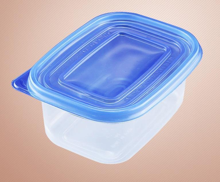 709ml di plastica a gettare torta contenitore 2 tipi di colore del coperchio del modello di strato del cioccolato Pane Box all-ingrosso