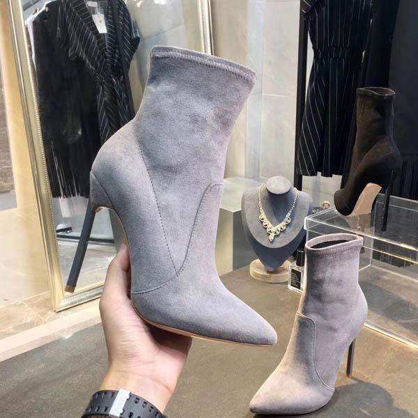 Hot Vente- en cuir véritable femme court Bottes plates Thicken à petits talons Chunky Femmes Chaussures Plate-forme Laureate Casual Desert Boot Femmes Bottes