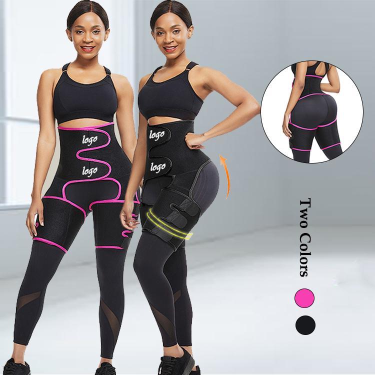 Terleme Bel Eğitmen Kuşak Ganimet Heykeltıraş Running 2020 Yükseltildi Neopren Uyluk Silgi / Butt kaldırıcı Firma Kontrol Gym Fitness