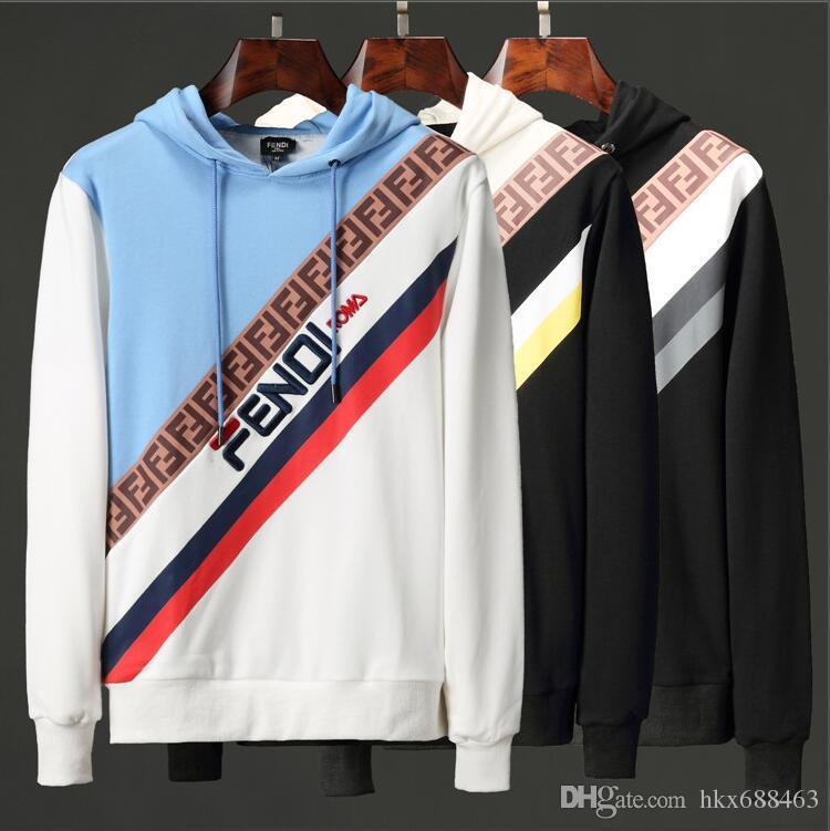 2019 nakliye yeni Sıcak satış Mens polo Hoodies ve Tişörtü sonbahar kış rahat bir başlık ile spor ceket erkek hoodies 31235
