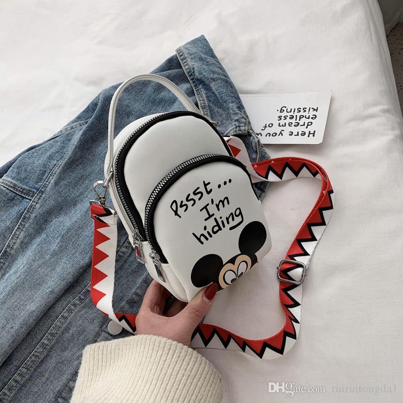 2020 Новый мини-сумки посыльного Мода кожа Кожаные сумки посыльного сумки Lday сумки PU кожа Сумка jiujiuchaobao / 3