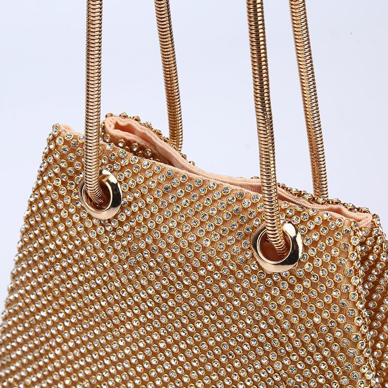 Andralyn Fashion Diamond Вечерняя Сумка Высокого класса Банкетный Клатч 2018 Новая Цепочка Небольшие Сумки На Ремне Женская Сумка на Ужин