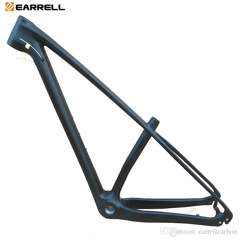 EARRELL carbone VTT no logo cadre montagne 29erx17inch vélo brompton engins fixes quadro de Bicicleta Vélo Mtb cadre 29 carbone