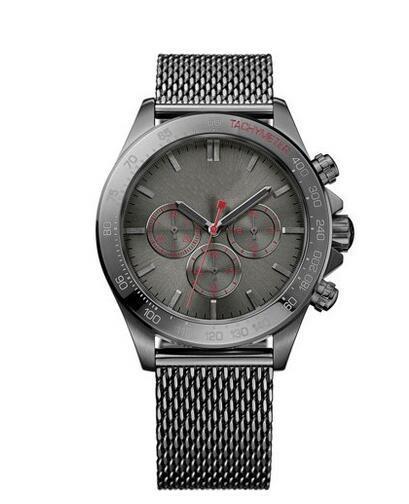 Мужские часы из нержавеющей стали с серым циферблатом 2019 года - 1513443 Мужские часы из нержавеющей стали Ikon Gunmetal