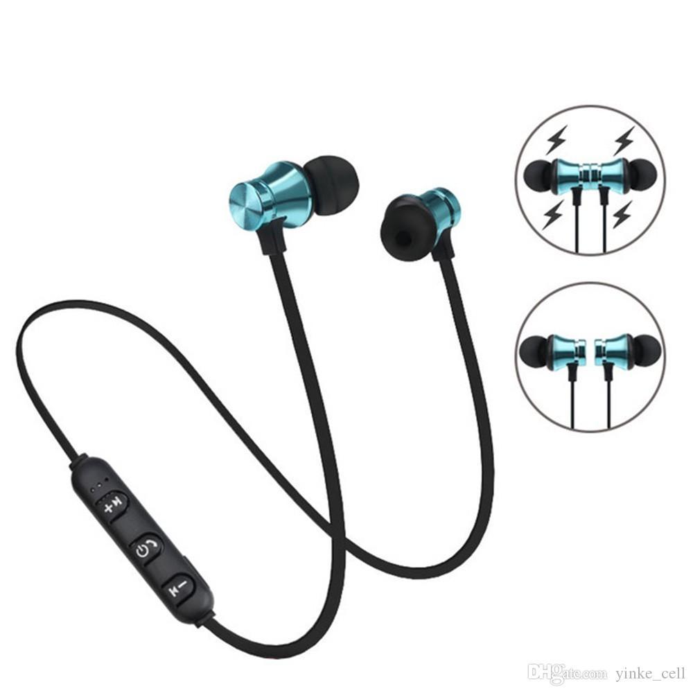 Neckband سماعة بلوتوث لاسلكية سماعة مع ميكروفون 4.1 ستيريو سماعة الرياضة سماعات الأذن للهاتف MP3