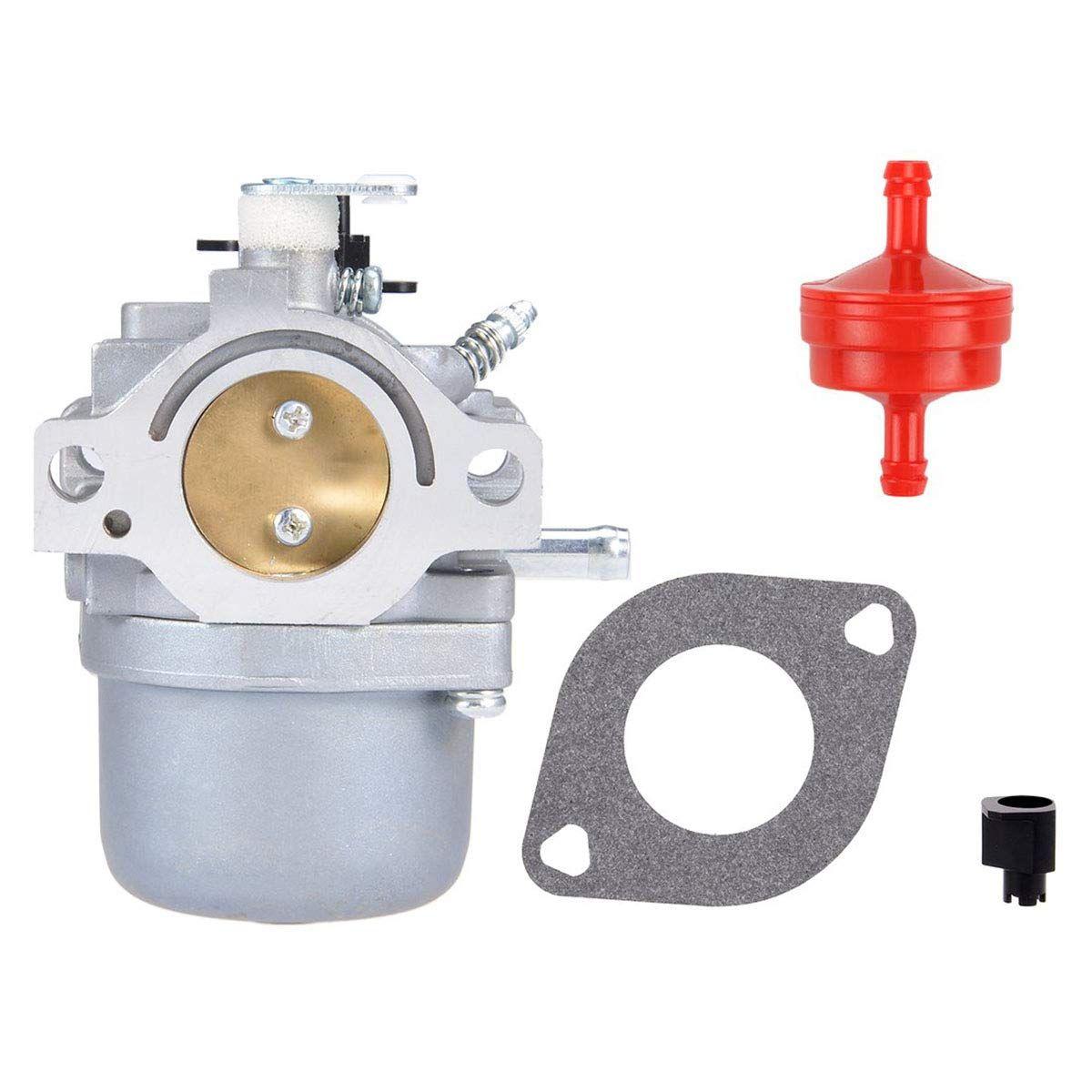 ZYHW 28R707 Carburateur Carb remplacement pour Briggs Stratton 28F707 28T707 28V707 moteur avec joint + filtre à carburant