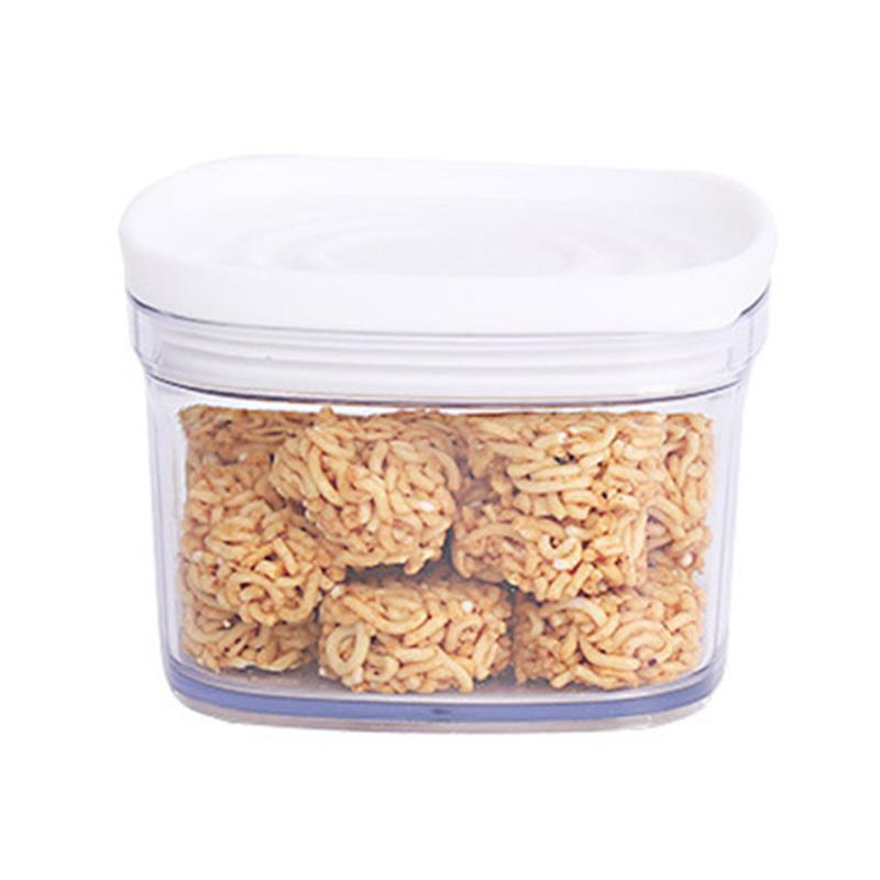 220ml / 650ml Plastic Storage Jar Tansparent Sealed Coffee Beans Cereal Preservation Container Box TB Sale
