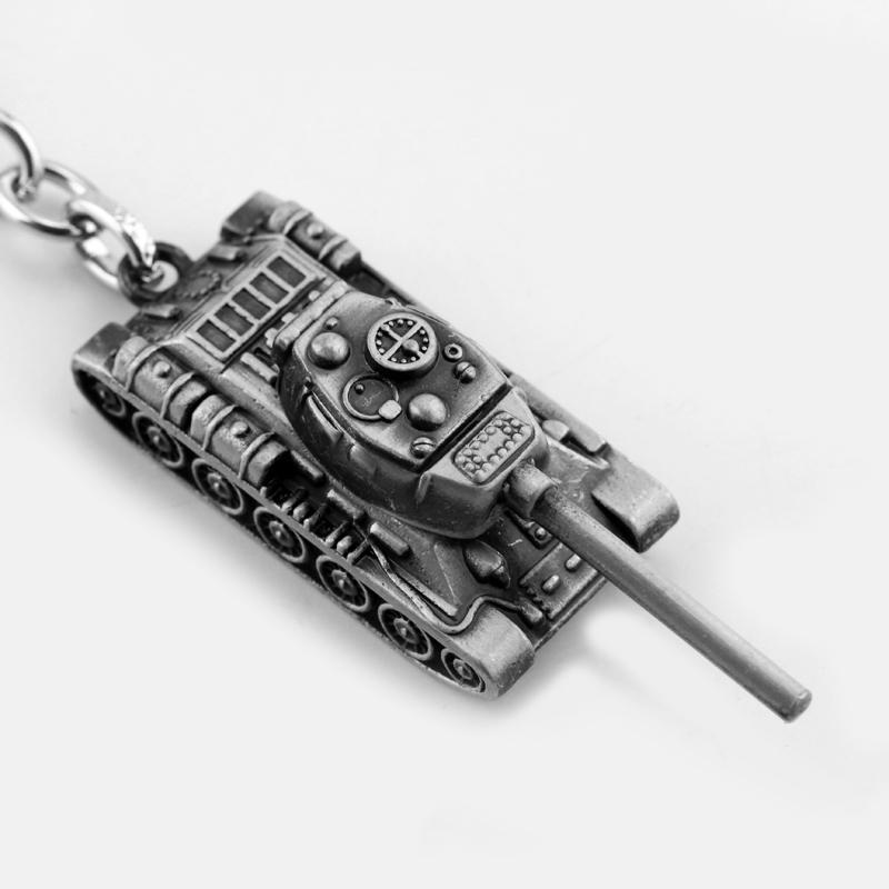 Игра косплей Jewelry Мир танков WOT цепь ключа металл 3D Танк модель кулона для мужчин женщин автомобиля брелок сумка аксессуаров Детских игрушек