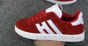 2020 modo caldo di vendita bambini gazzelle og ragazzi ragazze scarpa per bambini bambino genitore bambino Stan Smith formatori samba scarpa da tennis all'aperto H005