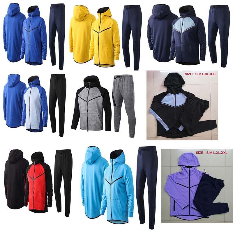 2019 20 New Ni Brand Traning Hood Chaqueta Chaqueta de chándal de buena calidad Chaqueta de capucha pesada y de invierno