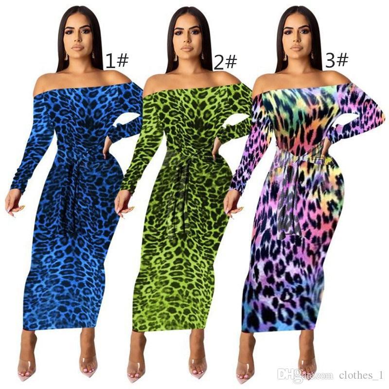 frauen langarm sommerkleid designer knöchellangen einteiliges kleid hohe qualität dünner rock elegante luxus clubwear klw2077