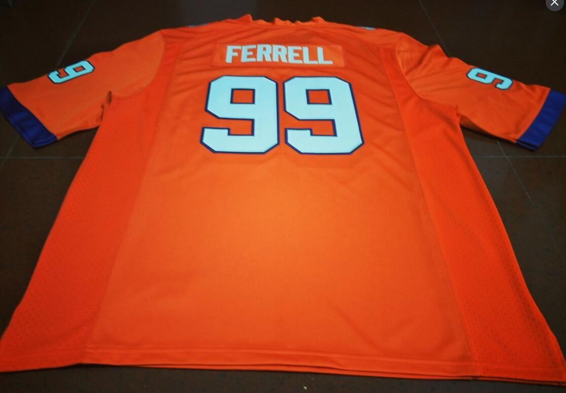 Пользовательские мужчины молодежь женщины Clemson Tigers #99 Clelin Ferrell футбол Джерси размер s-4XL или пользовательские любое имя или номер Джерси