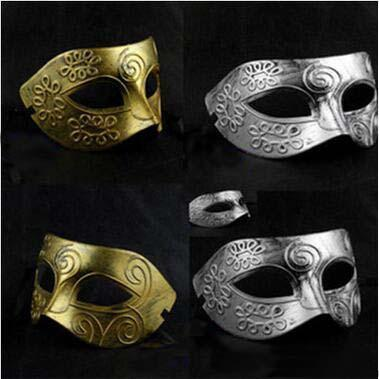 New Arrival Retro Man Masks Greek and Roman Warrior Prince Masquerade Mask Halloween Christmas Masks Costume Party Prince Masks For Man