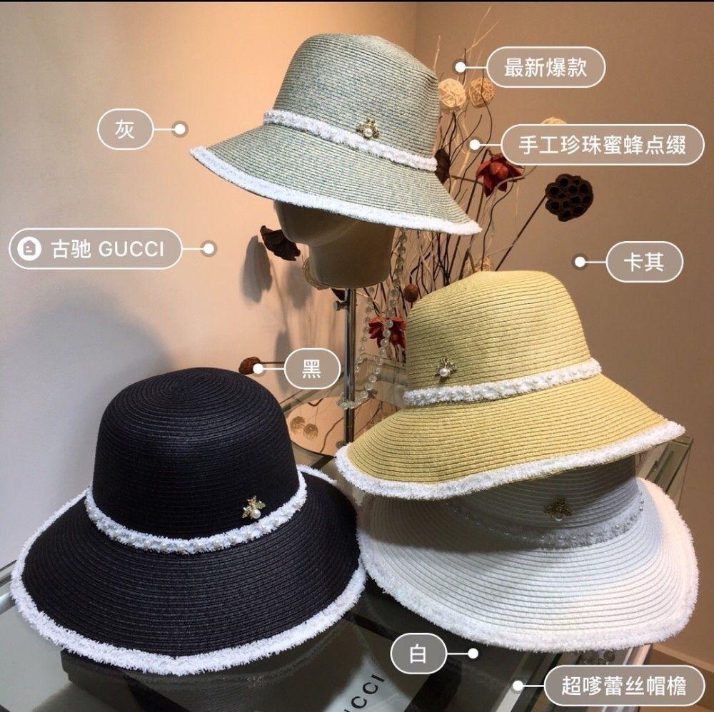 LAE3New homens e mulheres tendência de moda respirável praia organza senhoras de abas largas cowboy largas disquetes brim igreja chapéus para