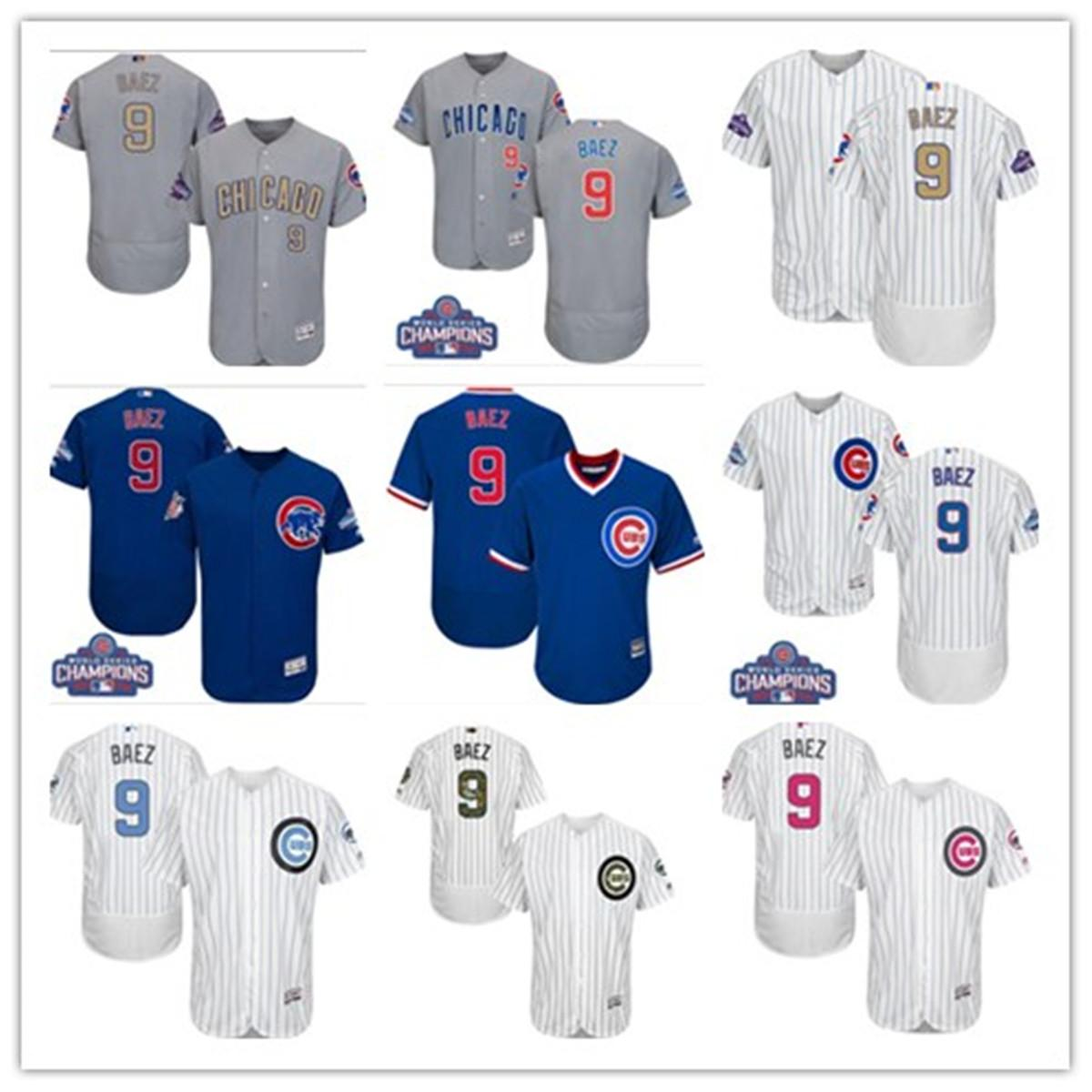 free ship Sports Baseball Jerseys Chicago ChicagoCubs 9 Javier Baez Cub men women youth red white high-quality jersey