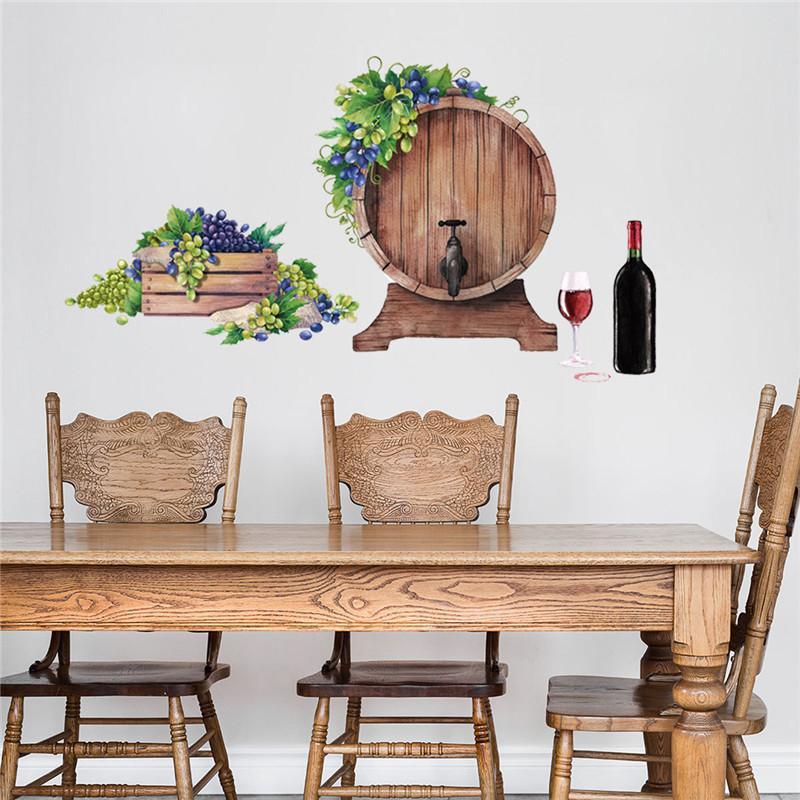 ZOLLOR المعيشة جدران غرفة الرجعية جدار خلفية النبيذ جدار من الطوب اللوحة الغربي مطعم شريط الخمرة الزخرفية الجدارية