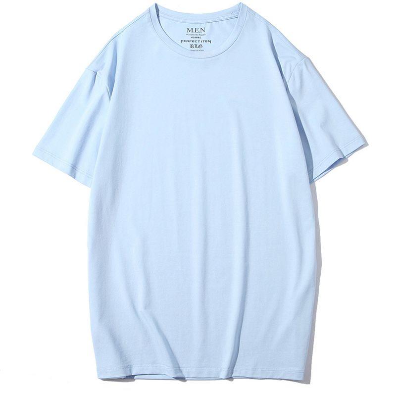 Camiseta con logo bordado personalizado para hombres y mujeres en línea Su diseño Camiseta personalizada de algodón con cualquier logotipo Cualquier tamaño Cualquier ubicación Cualquier ubicación