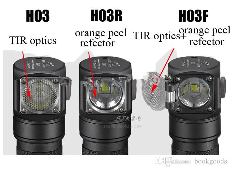 Freeshipping H03 H03R H03F Led Lampe frontale Lampe Frontale cri XML1200Lm Chasse Pêche Camping-PROJECTEURS Phare + Bandeau