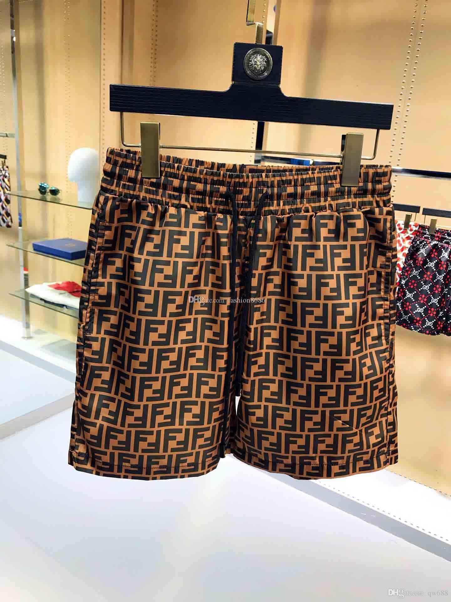 Gelişmiş Designer şort Yaz Yüzme Şort + Plaj Pantolon Erkekler Baskılı Pantolon Erkek Giyim Hızlı kuruyan Yüzme bavulları