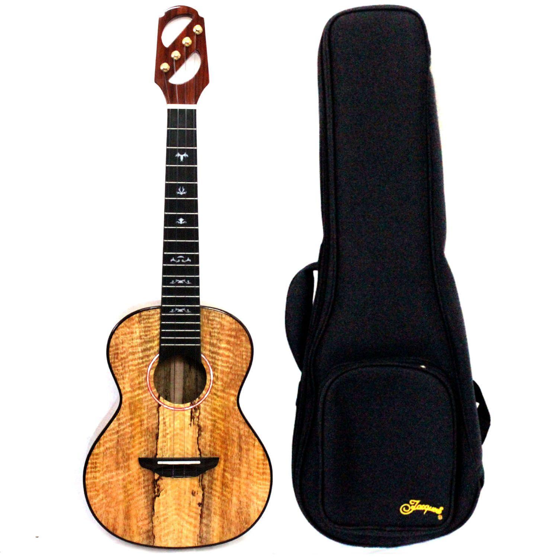 Alta qualidade de 26 polegadas tudo ukulele tenor madeira de manga sólida com Gig Bag