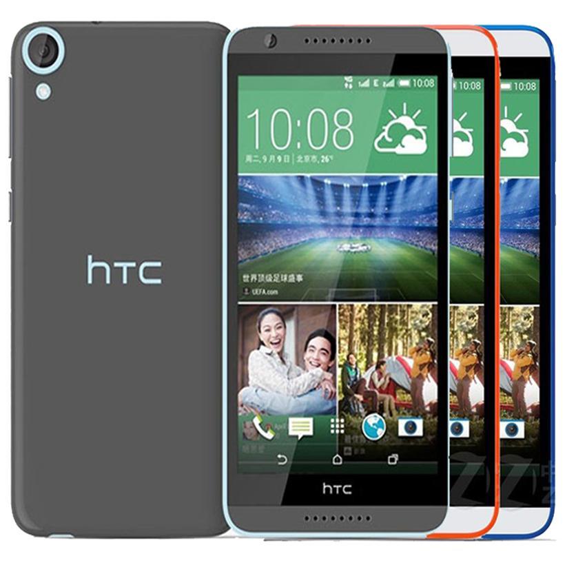 تم تجديده HTC الأصل الرغبة 820 المزدوج سيم 5.5 بوصة الثماني الأساسية 2GB RAM 16GB ROM 13MP كاميرا 4G LTE مقفلة الهاتف الذكي الروبوت DHL 10PCS