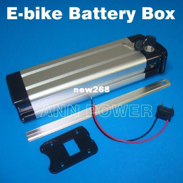 Electric bike battery 36V//48V case With free 18650 holder E-bike 48V 36V  Box