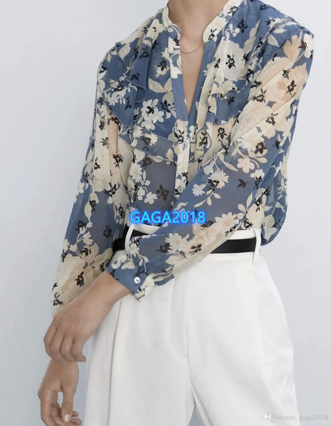 muchachas de las mujeres de gama alta camiseta tops botones patchwork cuello redondo camiseta de manga corta camisa de la blusa 2020 pasarela de moda nueva jersey diseño de lujo