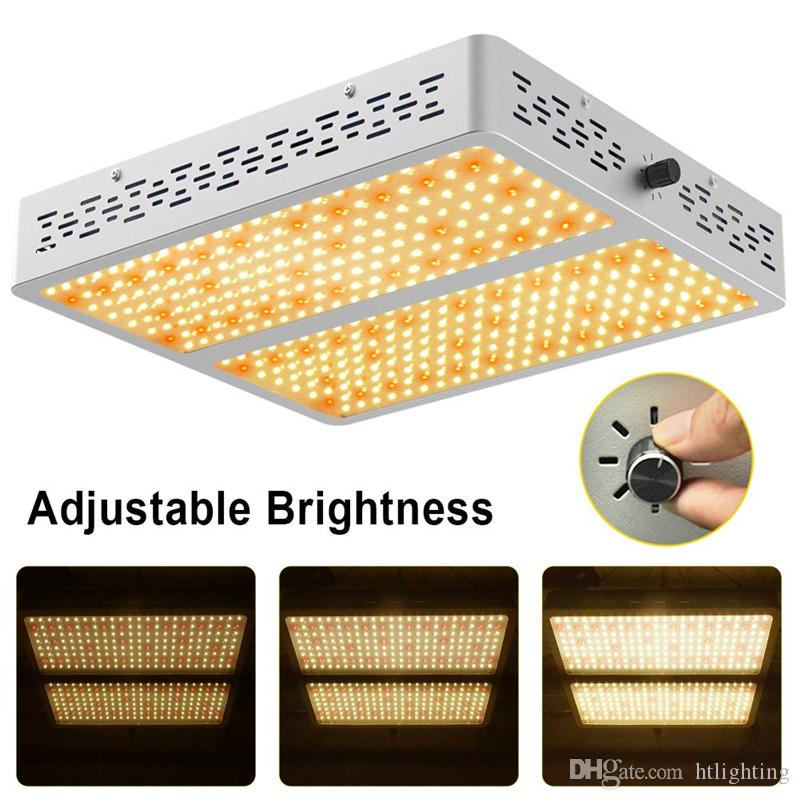 500W Dimmable Warm Full Spectrum LED Grow Light for Hydroponic Indoor Plant Lamp