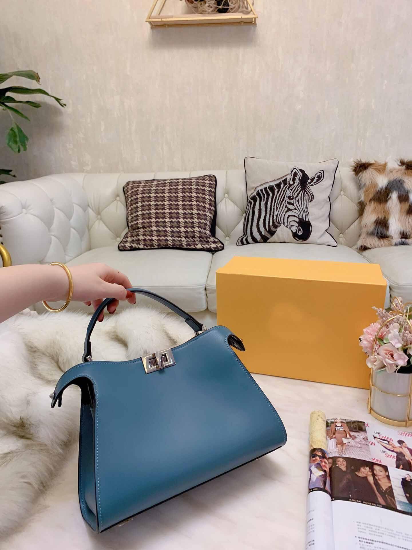 donne Nuove borse del progettista di arrivo della borsa in vera pelle di lusso delle donne borsa a tracolla corssbody per 28 centimetri femminile di vendita di trasporto