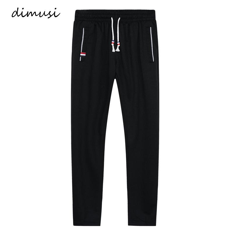 Dimusi Mens Joggers Casual Pants Fitness Men Sportswear Tracksuit Bottoms Skinny Sweatpants Trousers Gyms Jogger Track Pants 6xl SH190706