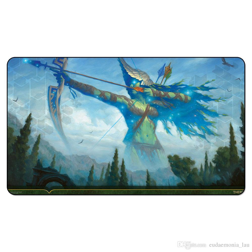 Magic Board Game Spielmatte: NYLEA, GOTT DER JAGD 60 * 35cm Tischset Mousepad Spielmatte