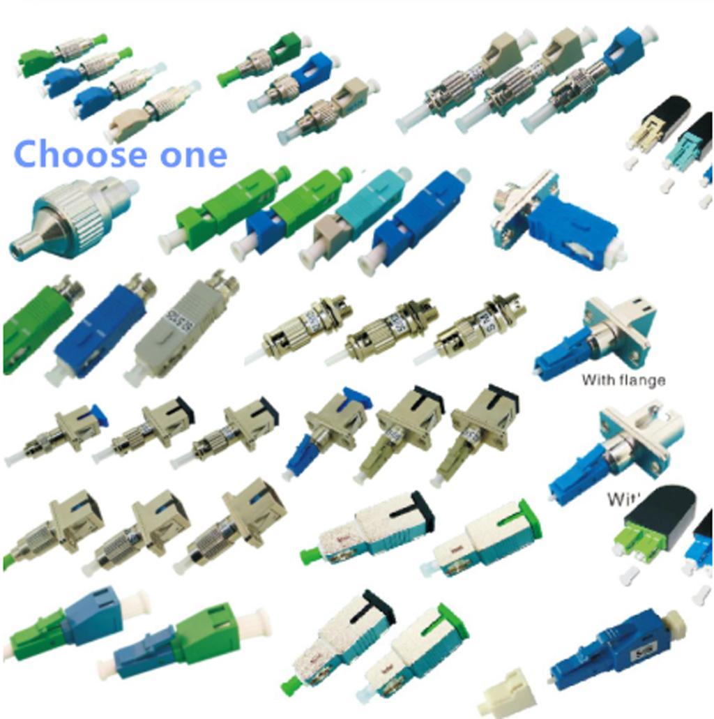 OTDR Hybrid Optical Fiber Connector Adapter lookback Coupler Cable Joint FC SC ST LC APC UPC Fiber Fiber Bridge Choose 1pc