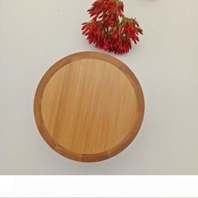 Assaisonnement bois Pot à épices en bambou Sucre Sel Poivre Herbes de stockage Bouteille Pot à épices pour la cuisine EEA1595