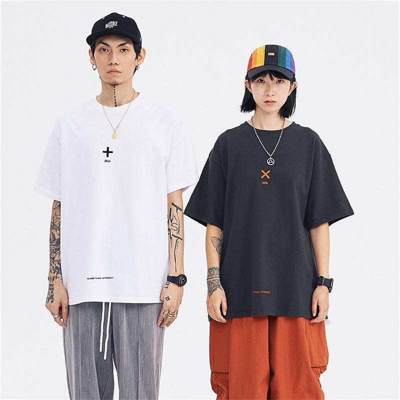 Mens Womens Designer T-Shirts Fashion Mens Womens Summer Tshirts Brand Short Sleeves Operation Symbol Print M-2XL Spring T-shirts 2051308V