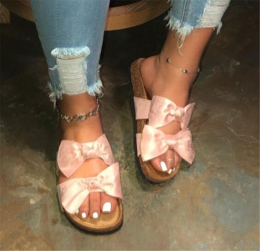 Yeni Yaz Sandalet Kadınlar 2020 Ayakkabı Kadın Sandalet Moda Terlik ilmek PH-CFY20051532