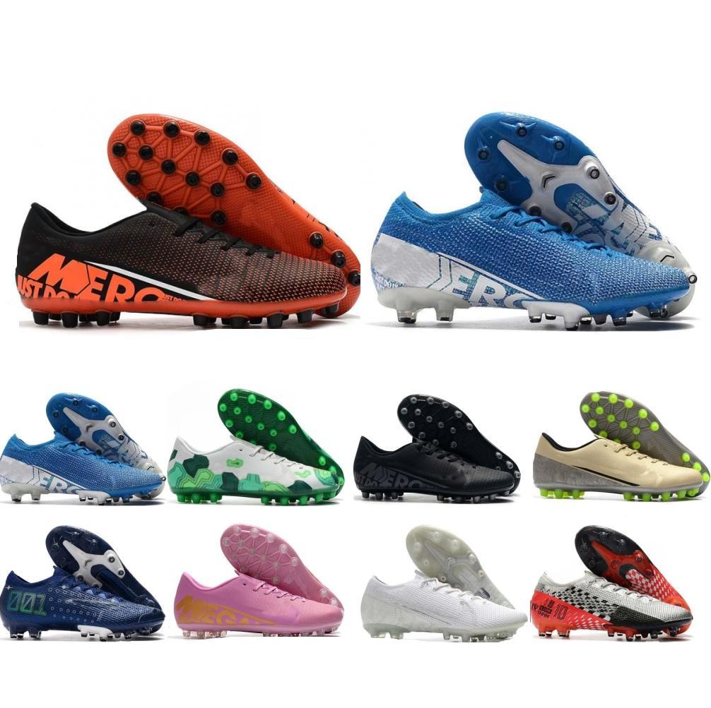 Al aire libre 2020 de Nueva baja del color Mercurial Superfly VII 360 Elite FG zapatos del fútbol de los hombres LVL UP CR7 Tacos de fútbol para hombre Botas de fútbol al aire libre del zapato