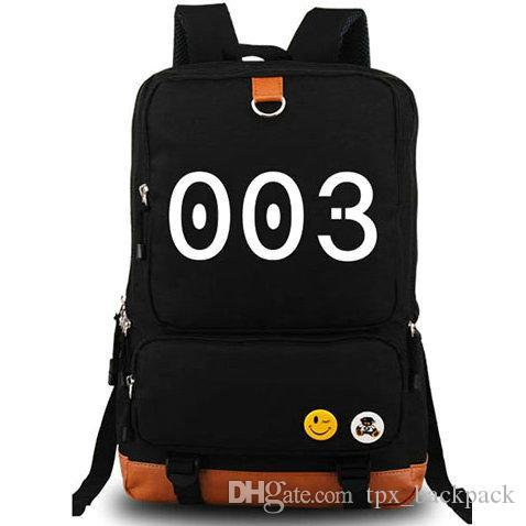 Ajin backpack 003 day pack Science fiction school bag Cartoon packsack Laptop rucksack Sport schoolbag Outdoor daypack