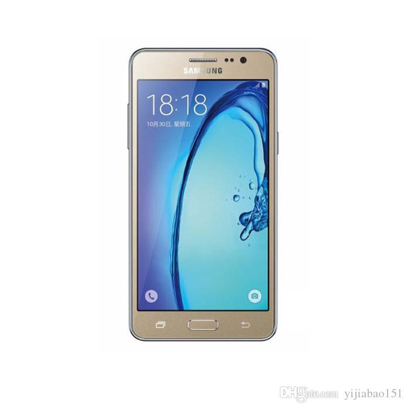 Samsung Galaxy On5 G5500 G550T 1.5GB / 8GB 5.0 بوصة رباعية النواة WIFI GPS بلوتوث LTE 4G مفتوح Andorid الأصلي تجديد الهاتف المحمول