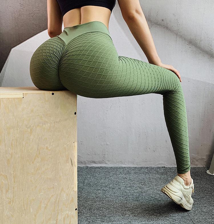 طماق Yogaworld الخوخ السراويل اللياقة البدنية سلس الشكل ثلاثي الأبعاد ورفع الفخذ الجوارب عالية الخصر رفع ق