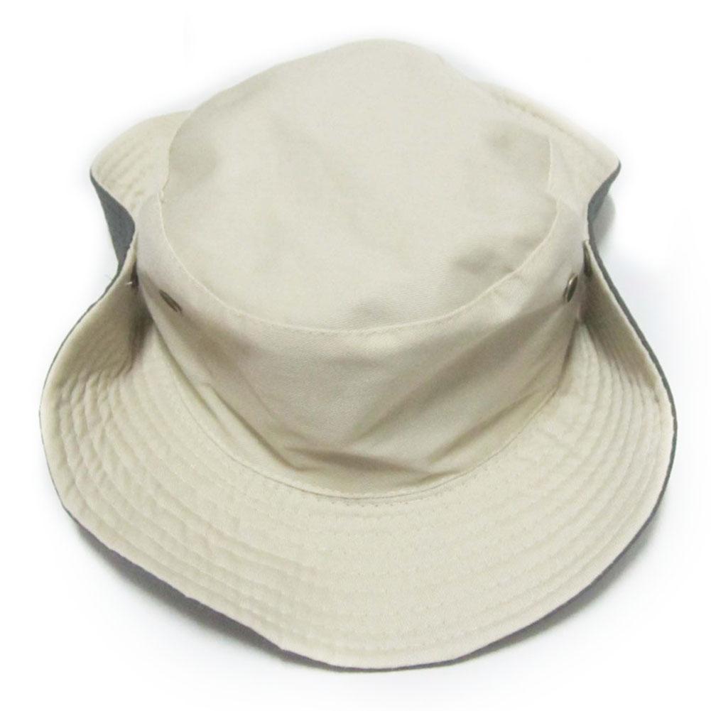 Pesca del verano del borde ancho de caza al aire libre ocasional del lazo de la montaña de los hombres del sombrero del cubo de Protección Solar Cap