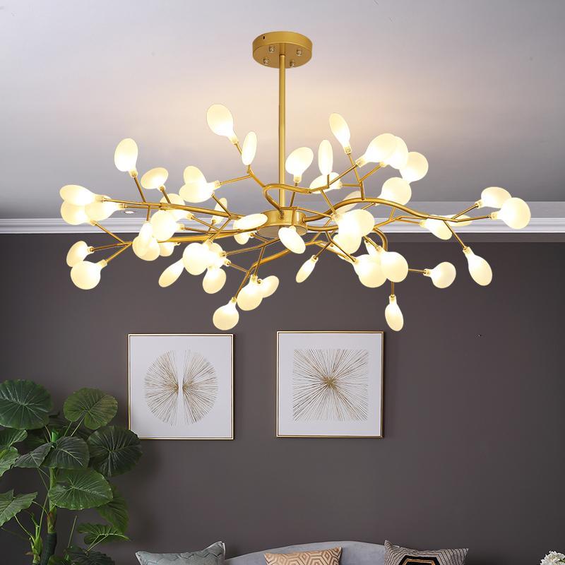 Личность Бытовая Гостиная Люстра Новый Спальня Столовая Люстра Освещение Современные привело Люстра Nordic Креативный подвесные светильники