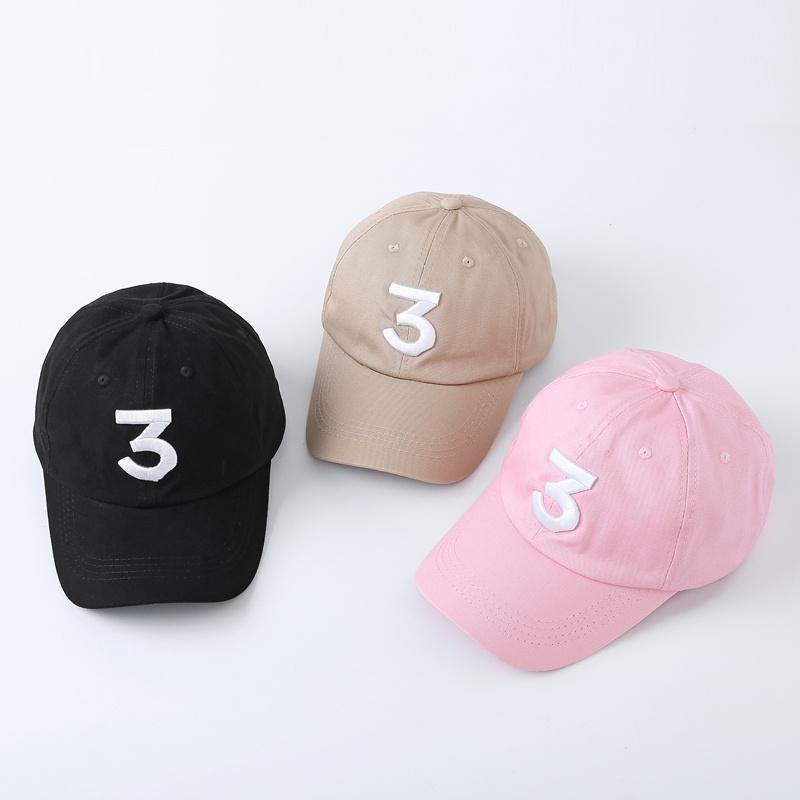 Siyah Haki pembe Popüler ŞANS rapçi 3 Baba Şapka Harf Nakış beyzbol Cap Hip Hop Streetwear Kurbağa Snapback Baba Şapka
