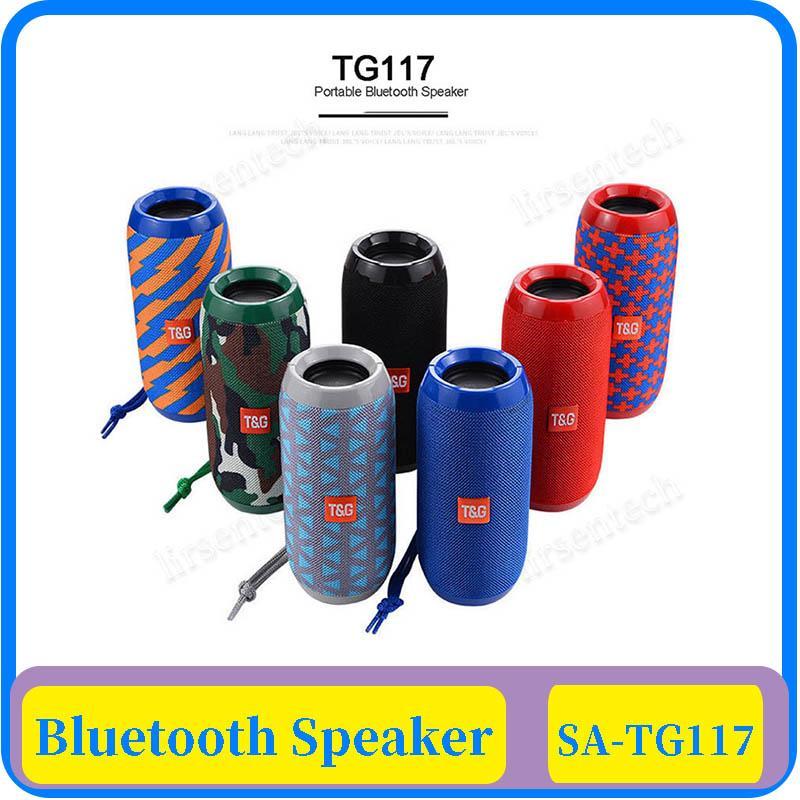 TF Kart FM Radyo ile 15x TG117 Kablosuz Bluetooth Hoparlör Kolon Taşınabilir Hoparlör Altavoz Bluetooth soundbox 10W Açık Hoparlör