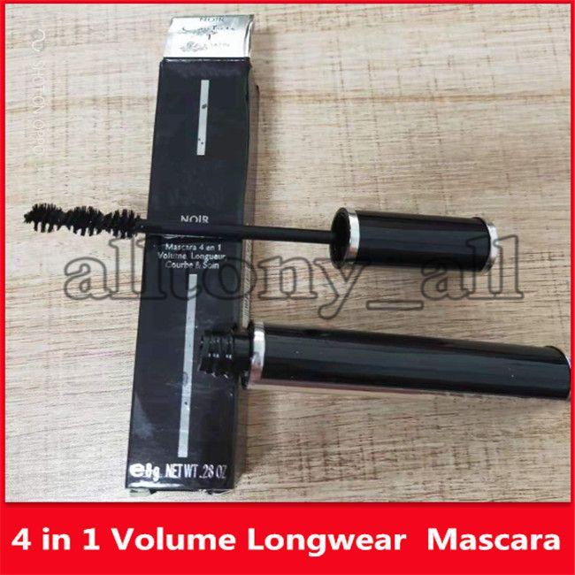 Best qualtity Famous Brand 4 in 1 Mascara Volume Length Curl & Care Spiral sea urchin brush Eye Makeup Mascara 8g
