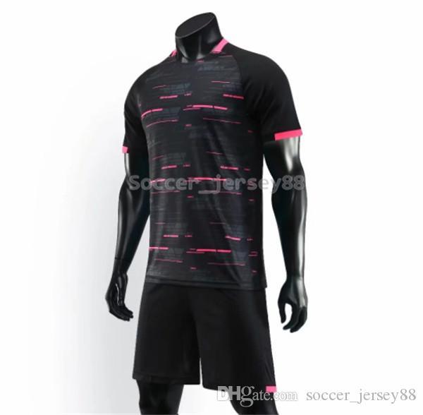 Nuevo llega el fútbol blanco Jersey # 901-1 modifique para requisitos particulares venta caliente de secado rápido camiseta de club o equipo Jersey Contactame camisas uniformes de fútbol