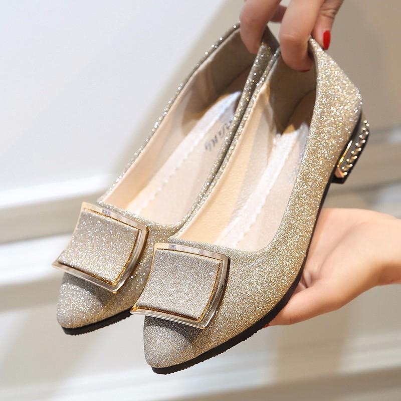 Yumuşak Deri Bayan Casual Düz ayakkabı Özel Katı Renk Kadınlar Çalışma Düz Ayakkabı Teklif Moda Kayma-on Kadın Düz Casual Ayakkabı
