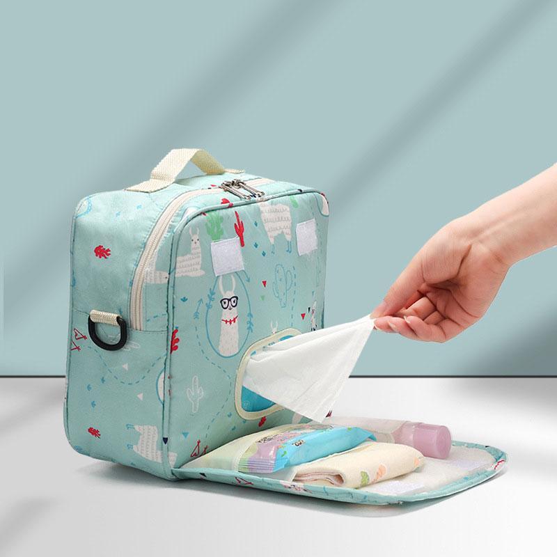 2020 Tasche Windel-Griff-Mutterschaft-Einweg-Tasche Baby 23 * 22 * 10 cm druckt trockene wetbags wiederverwendbare windel für taschen nxnux nasse mode doppelt gkbcu
