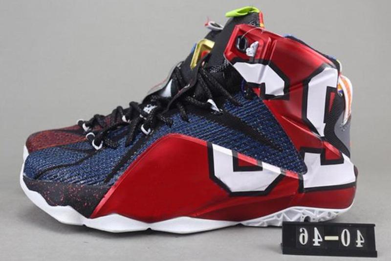 Scarpe da basket di alta qualità atletiche 12 Xii Elite da uomo What The Black White Metallic Gold Multi Sneaker